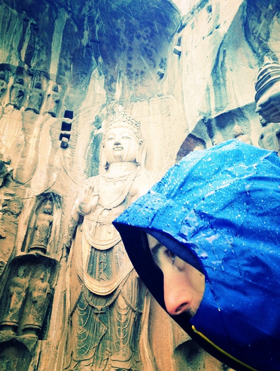 Very wet but very impressive (talking about the carvings)