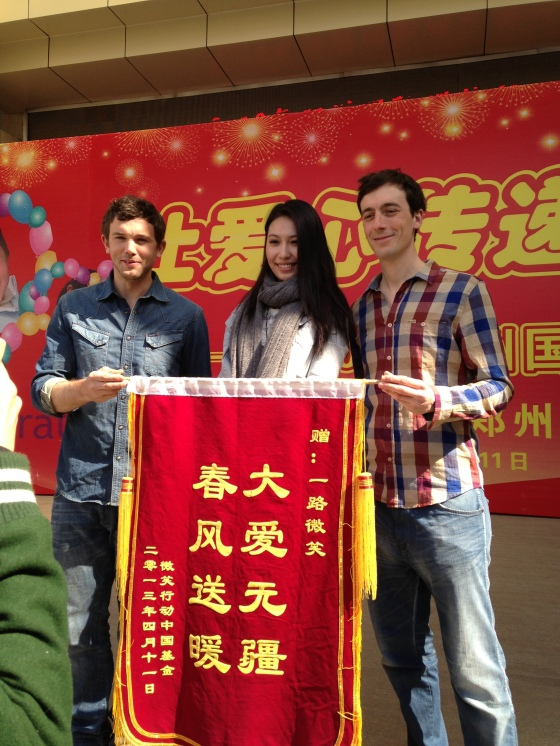 Miss China and the two runners-up