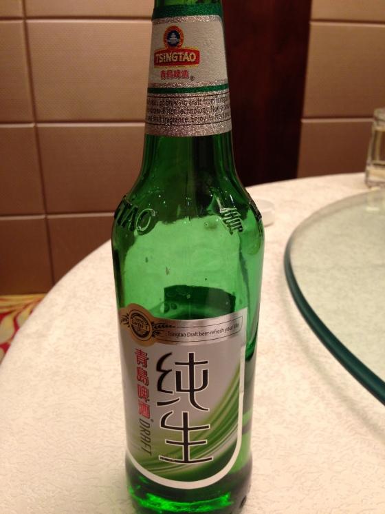 Tsingtao Draught - Better than a normal Tsingtao, not as good as a normal beer