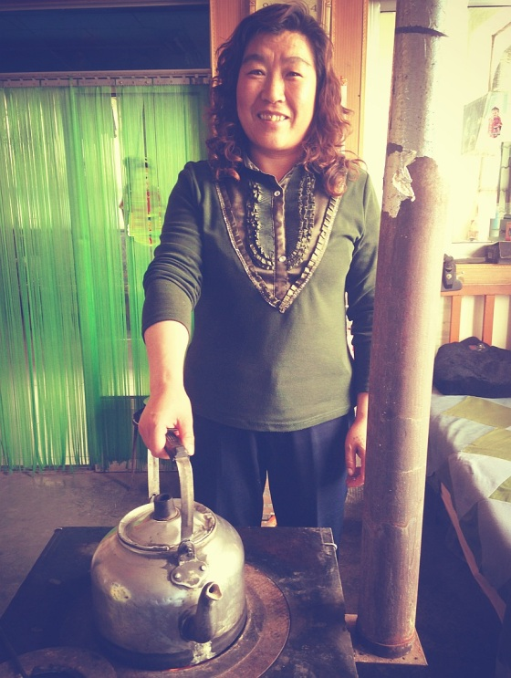 Mrs. Wang makes the best boiling water in the whole Wild West.