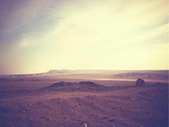 wind farm Xinjiang