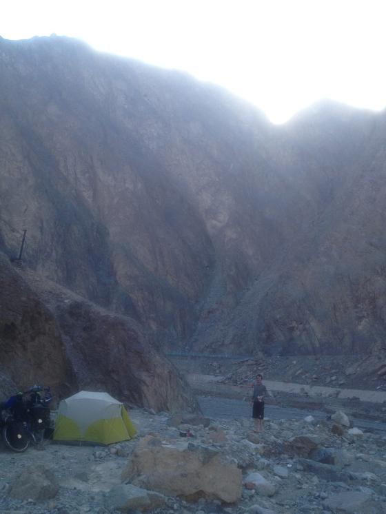 Ravine camping