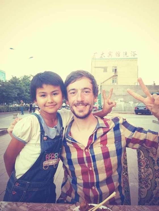 Cute kid Xinjiang
