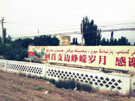 """""""Comrades of Xinjiang, you'd better learn to read Chinese or buy a pair of glasses"""""""