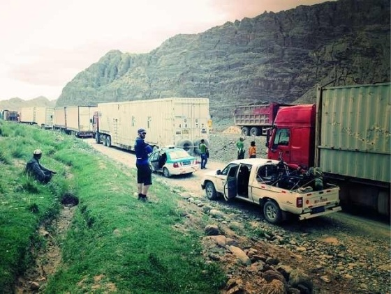 """8 hours to the sound of 'Kyrgyzstan's Greatest Hits"""" proved too much for Team Road of Smiles"""