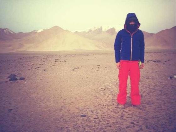 Cold - next to Karakol