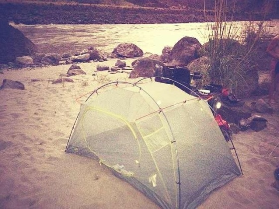 Though not dynamite or kalshnikov-proof, our North Face tent proves very efficient against mosquitoes