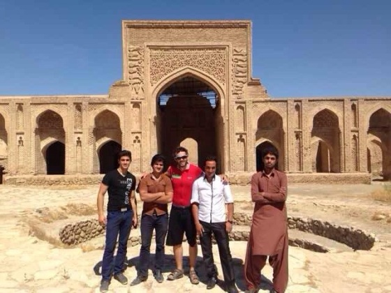 Recommended to us by a customs officer, Robat Sharaf is the biggest (or is it the oldest) brick building in Iran.