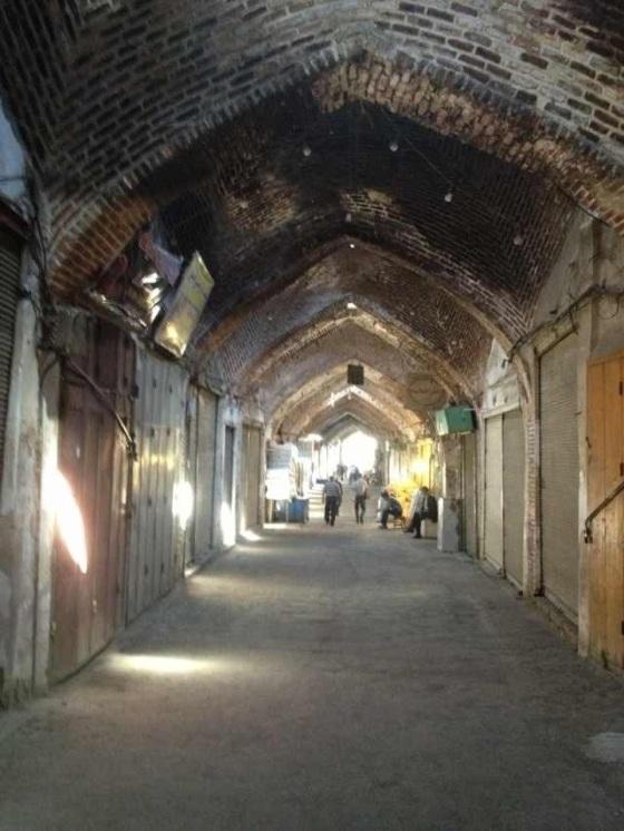 The biggest Tabriz bazaar in the world