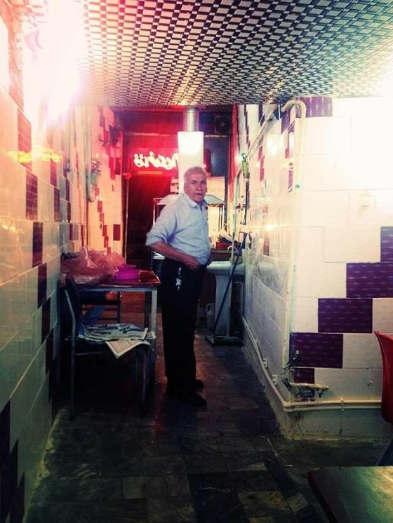 """Abdul """"The Butcher"""" Mohammed assured us that the liver was from an animal not leftovers from the hospital next door"""