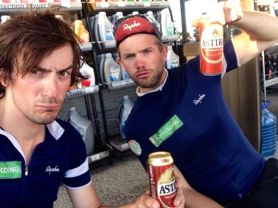 Yes, we are still taking selfies of us drinking beer after 7 months on the road
