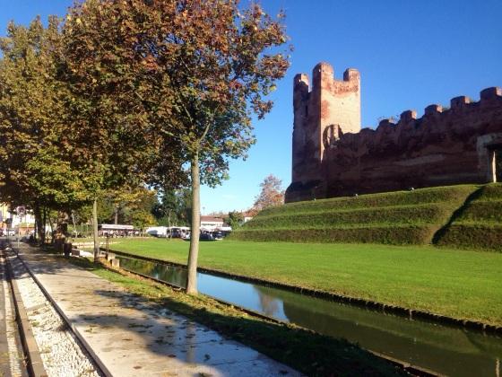 Castelfranco Veneto, just a normal Italian town.